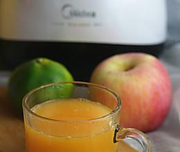 柚桔苹果汁#美的原汁机Mojito#的做法