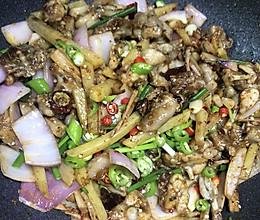 干锅田鸡的做法