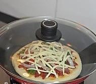 平底锅披萨的做法图解15