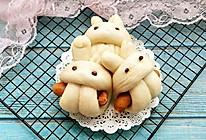 奶香兔兔包的做法