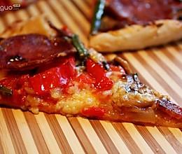 意大利香肠批萨的做法