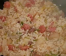 暖心暖胃又美味的菜米饭的做法