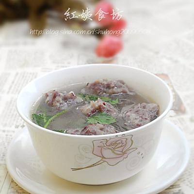 豆皮丸子汤