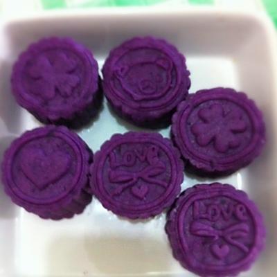 香甜紫薯饼