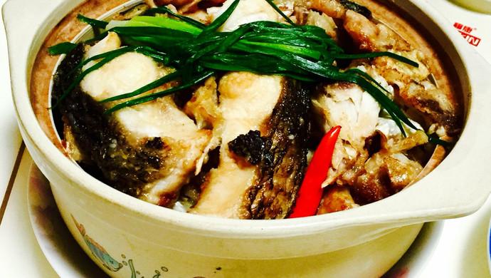 (腐竹)鱼头煲