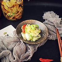 #爽口凉菜,开胃一夏!#卷心菜泡菜的做法图解4