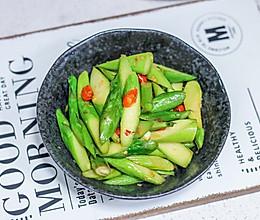 辣炒芦笋的做法