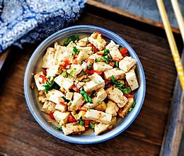 #硬核菜谱制作人#虾酱炒豆腐的做法