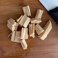 腐竹花生米拌黄瓜的做法图解3