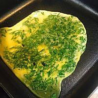 韭菜煎蛋的做法图解5