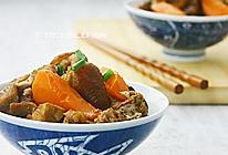 红萝卜桂圆炆兔肉的做法
