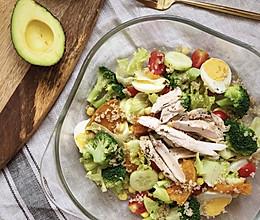#美食新势力#藜麦鸡胸肉沙拉|低卡路里高蛋白的做法