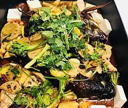 烤箱版火锅烤鱼的做法