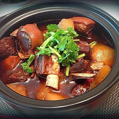 川味砂锅之萝卜羊排