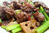 香辣干锅排骨的做法