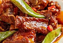 东北排骨炖豆角   酱浓味鲜的做法