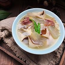 #父亲节,给老爸做道菜#冬瓜火腿菌菇汤
