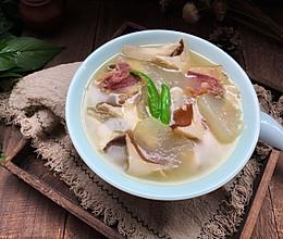 #父亲节,给老爸做道菜#冬瓜火腿菌菇汤的做法