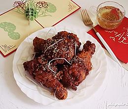 #憋在家里吃什么#黄油蜂蜜脆皮炸鸡的做法
