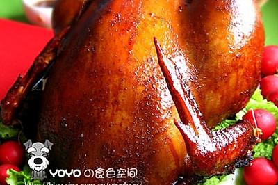 自制烤火鸡