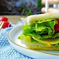 #520,美食撩动TA的心!#芝士糖心蛋吐司的做法图解9