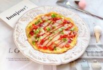 快手早餐—鸡蛋饼披萨的做法