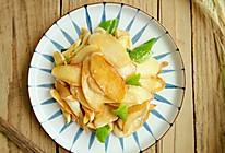 #一人一道拿手菜#青椒炒茭白的做法