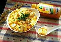 蟹黄豆腐 #太太乐鲜鸡汁中式#的做法