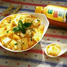 蟹黄豆腐 #太太乐鲜鸡汁中式#