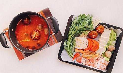 傣族酸汤火锅的做法