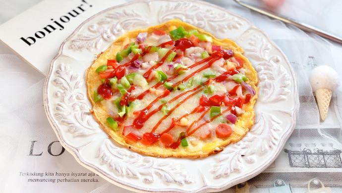 快手早餐—雞蛋餅披薩