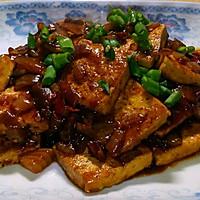 超下饭的煎烧老豆腐的做法图解3