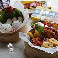 日式咖喱炸鸡便当#咖喱萌太奇#的做法图解38