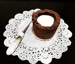 曾风靡全纽约----》巧克力曲奇牛奶杯的做法
