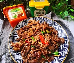 #一勺葱伴侣,成就招牌美味#双酱炒牛肉的做法