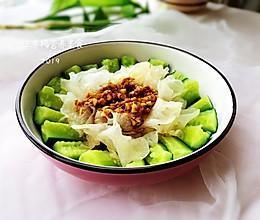 银耳拌黄瓜#精品菜谱挑战赛#的做法