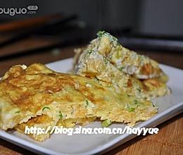 鱼籽煎鸡蛋的做法