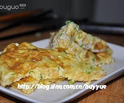 鱼籽煎鸡蛋