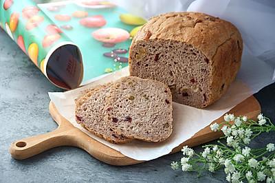 面包机一键式无油全麦果干面包