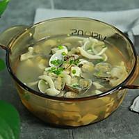 花蛤菌菇豆腐汤的做法图解9