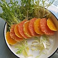 #西餐#橙柚蒜香鸡胸肉沙拉的做法图解8