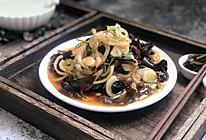 #花10分钟,做一道菜!#凉拌木耳洋葱的做法
