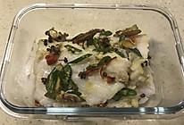 双椒香煎巴沙鱼(无油版)的做法