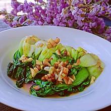#餐桌上的春日限定#鲜嫩可口的蒜蓉酱油小青菜