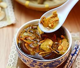 广东老火靓汤-虫草花花旗参香菇汤的做法