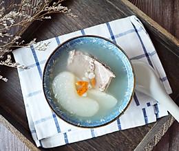 #秋天怎么吃# 川贝雪梨猪骨汤的做法