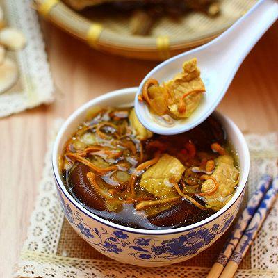 广东老火靓汤-虫草花花旗参香菇汤