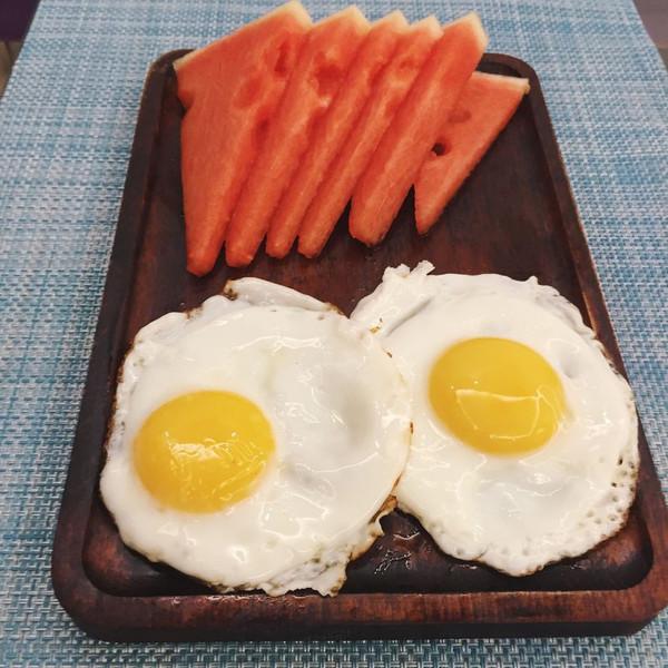 单面煎蛋的做法