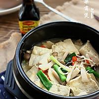 豆腐杂菌煲#美极鲜味汁#的做法图解8