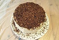 三层巧克力蛋糕软芝士糖霜夹心的做法